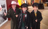 Kids at Bury Transport Museum